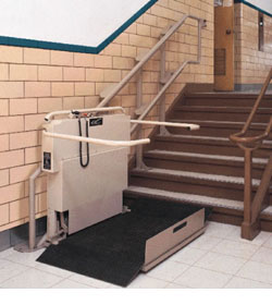 The Stairway Wheelchair Lift Is The Ideal Solution For Those Buildings  Where It Is Not Practical To Install A Vertical Wheelchair Lift Or An  Elevator.